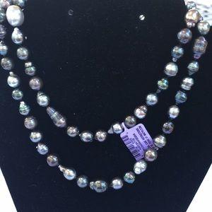 Jewelry - Fine Pearl 12MM Baroque Tahitian Strand of Pearls